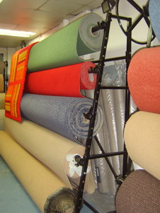 3 Roll Single Sided Carpet Stand 4m Uk Display Stands