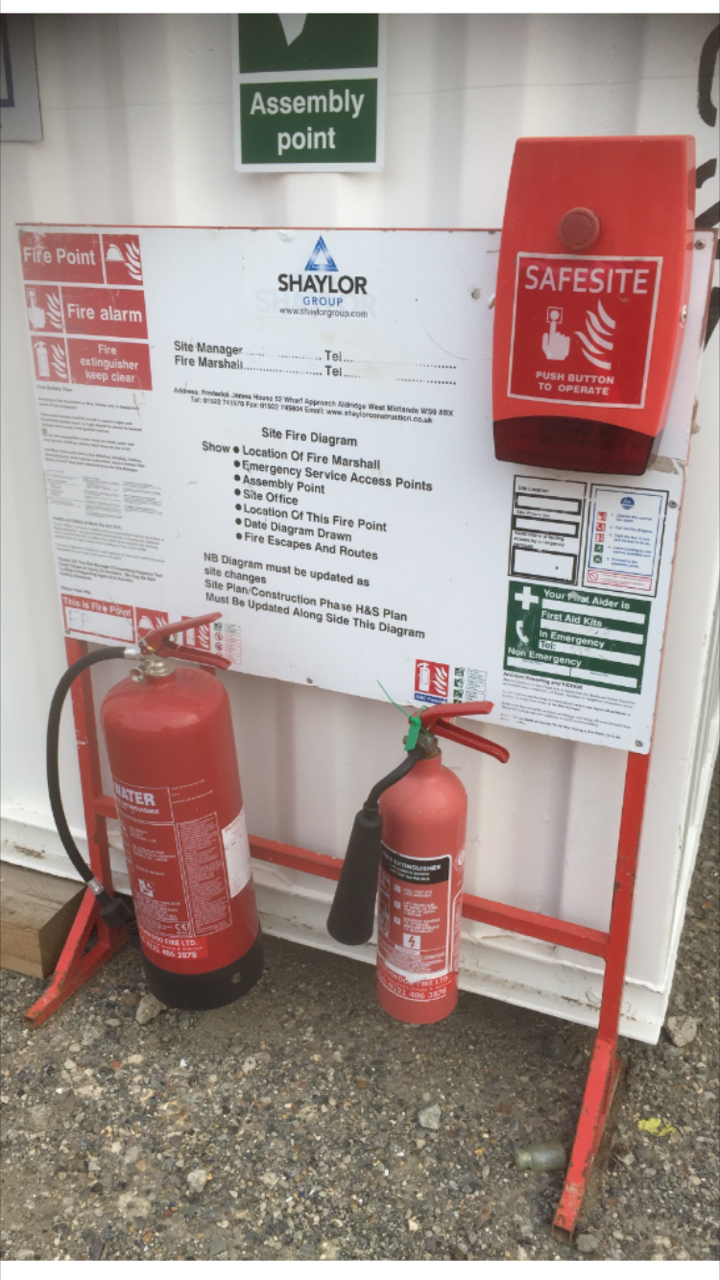 Fire Sign Amp Extinguisher Stand Uk Display Stands