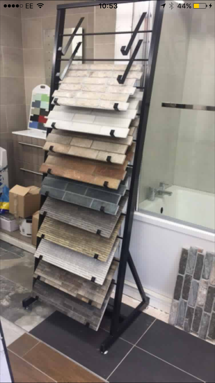 Tile Sample Stand 12 Arms Uk Display Stands