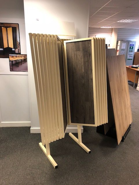 14 Arm Laminate Tile Swing Arm Stand 28 Samples Uk