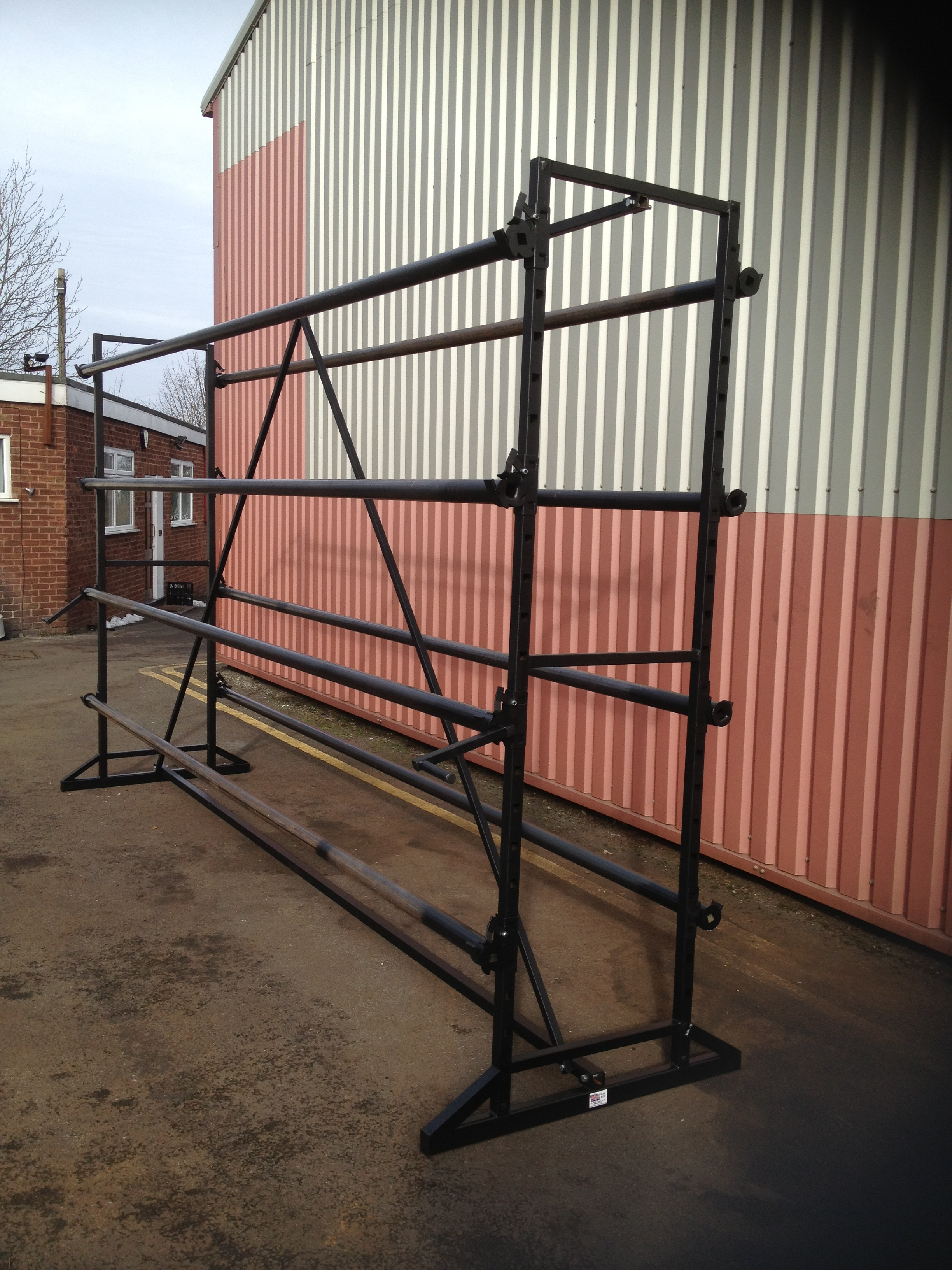 8 Roll Island Carpet Stands 5m Uk Display Stands