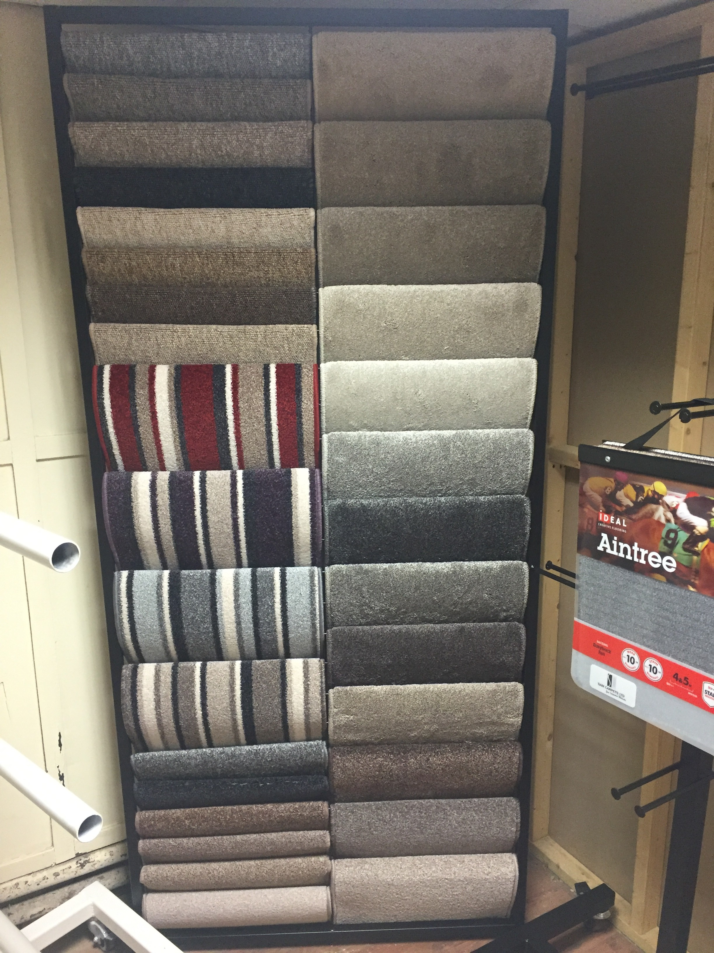 Carpet Sample Stand 18 Quot Twin Festival Stands For Vans Uk