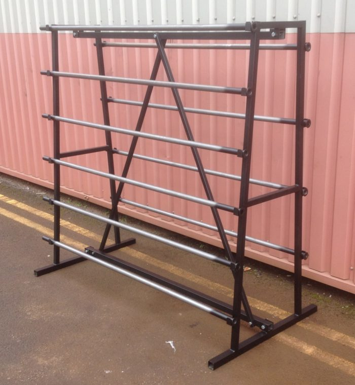 FABRIC 10 ROLL STAND 1.5M WIDE