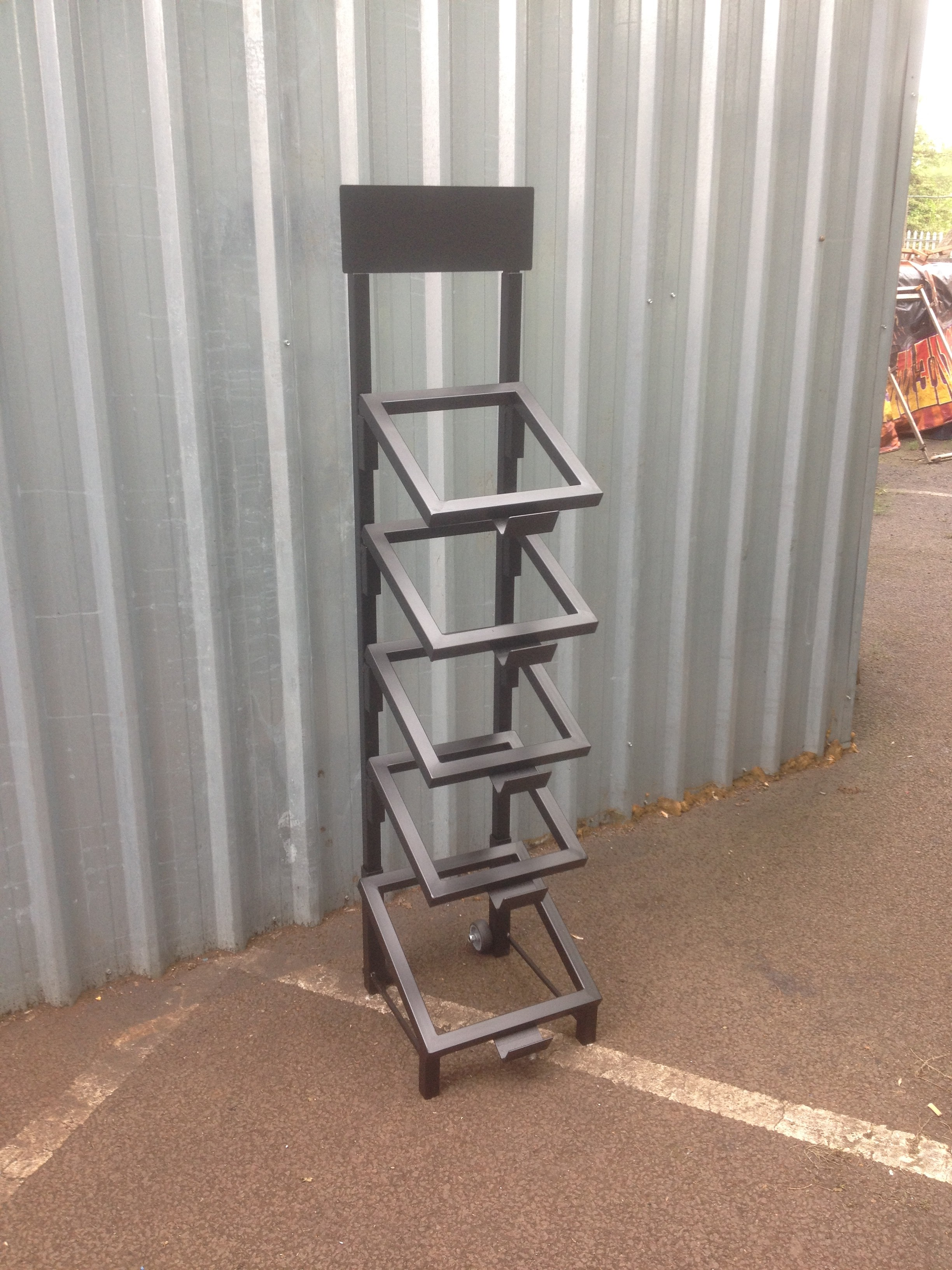 Sample Lecturn 5 Tier Uk Display Stands