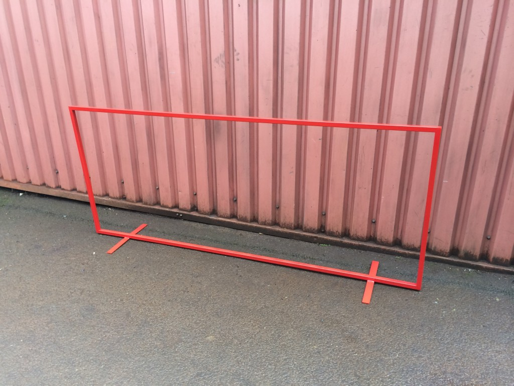 BANNER SIGN STAND