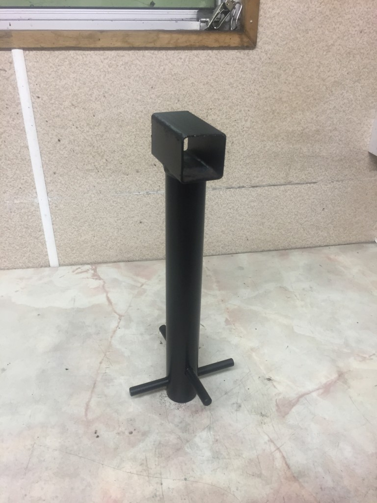 SECURITY POST HEAVY DUTY CEMENT DOWN CHAIN LOCK