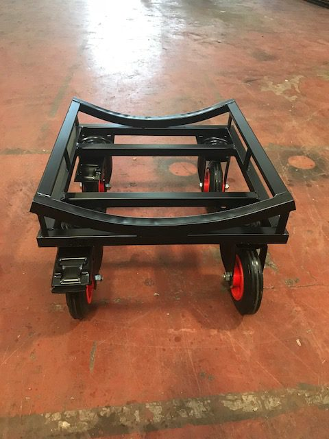 Small Roll Trolley With Brakes Uk Display Stands